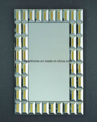 Fashion Silver et Gold miroir mural compact miroirs décoratifs