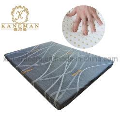 L'emballage de charbon de bois de bambou laminé tissu matelas en latex naturel de la décolleteuse