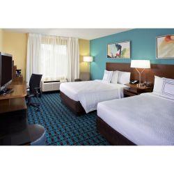 غرفة نوم حديثة فاخرة من الخشب الصلب بحجم كينج وأثاث بالنسبة إلى غرفة فندق هوليداي إن إكسبريس