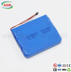 Pl 11.1V355057 1000mAh Batterie au lithium polymère pour les dispositifs médicaux