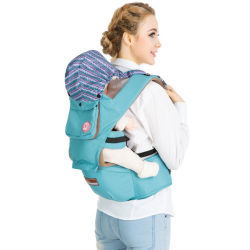 Custom confortável macio de algodão Ajustável Multifuncional Hipseat criança portadora de bebé