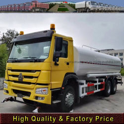 Sinotruk HOWO 6X4 20m3 de Spray de Água Truck/sprinklers