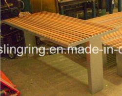 Piscina pública aguardando cadeira com painel de madeira de plástico, Fabricação