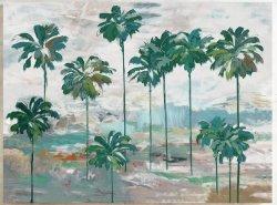 Het Beeld van de Olie van de palm met PK voor de Kunst gf-P190522154 van de Muur