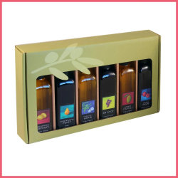 갯솜과 공단 삽입을%s 가진 제조자 관례에 의하여 인쇄되는 마분지 또는 골판지 올리브 기름 선물 포장 상자