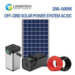 6W-500W AC/DCのoff-GridはまたはLithium Battery PV Solar Power System導くAcid