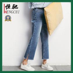 Summer Popular Cotton Loose neun der Dame Hosen-Jeans