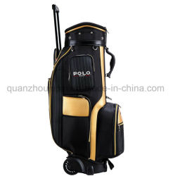 OEM Venta caliente Rueda de nylon Stand Golf Cart Bag