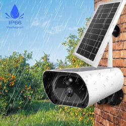 2020 amplamente utilizados 4G GSM alimentada a energia solar Wireless WiFi câmara IP para exterior