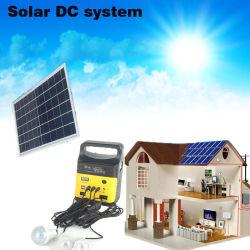 도매 태양 에너지 시스템 태양 손전등 빛 3 PCS 전구 FM 라디오