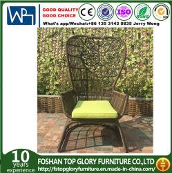Venta caliente PE ratán sillón de mimbre muebles de exterior