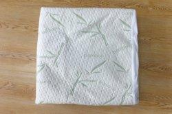 Protector de colchão impermeável de bambu, travesseiro/Tampa da atividade antibacteriana Hotel Home Produtos Têxteis