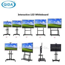 Het slimme van de Interactieve LEIDENE van IRL Iwb van de Raad Scherm van de Aanraking van de Kiosk van de Reclame LCD Vertoning Multi met USB VGA HDMI