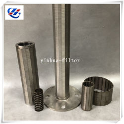 カスタムステンレス鋼のウェッジの網の巻上げの管の処理