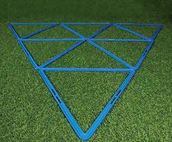 熱い販売のサッカーの敏捷の訓練用器材の三角形のフットボールの敏捷のリング