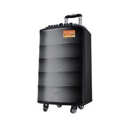 Sansui 12 pouces de sa3-12 chariot Portable le président de la batterie rechargeable haut-parleur sans fil Bluetooth HiFi PA L'orateur