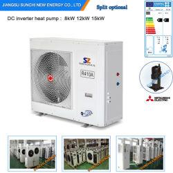 Serbien/Schweden Winter-25c Area Floor House Heizung +55c Dhw Auto-Defrost Sparen Sie 70% Strom 12 kw/19 kw/35 kw/70 kw Monobloc Evi Air zu Wasser Wärmepumpen-Heizung