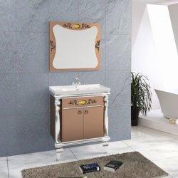 Prodotti rispecchiati moderni della stanza da bagno dei Governi di pavimento dell'acciaio inossidabile di vanità