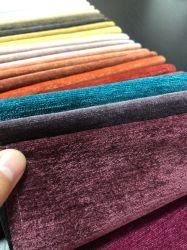 100%Polyester tissu Chenille canapé mobilier de Tissu Tissu Tissu