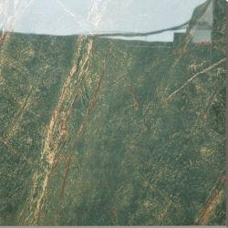 Patrón verde Piso de cerámica vidriada y cuarto de baño Azulejo