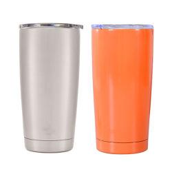 Tazza dell'acqua personalizzata tazza isolata chiavetta d'acciaio inossidabile inossidabile dell'acciaio inossidabile della chiavetta di corsa della boccetta della chiavetta del caffè di vuoto della tazza della chiavetta del caffè