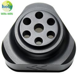 Parti meccaniche lavorate a macchina in CNC in alluminio di precisione superiore