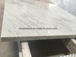 中国古典的な白い Carrara の台所 countertop のための大理石