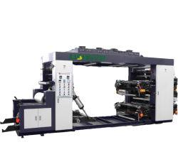Четыре цвета стопку бумаги Flexographic высокой скорости пластиковых механизма печати