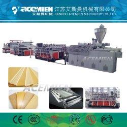PVC mousse WPC croûte board plaque de feuille de machines de production