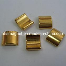 مغناطيس النيوديميوم، شكل مقطع القوس مع طلاء نيكوني