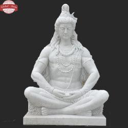 أبيض [شنس] ينقّش رخاميّة ينحت حجارة [بودّها] تمثال ([غسّ-174])