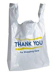 Alta qualidade personalizada por grosso de plástico impresso T-shirt sacos de compras de mercearia Dom Bolsas Bag