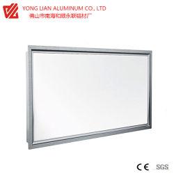 Profilé en aluminium pour fenêtres et portes structure en aluminium à profilé en diamant Design orienté vers l'homme profil en aluminium pour fenêtres en verre à insertion
