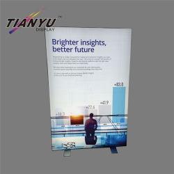 Diseño del cliente SNAP Frame Caja de luz LED de aluminio