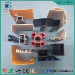 PVC/ABS/PC perfiles extruidos perfiles de policarbonato de fábrica de extrusión de plástico