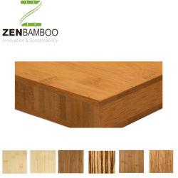 Poutres en bambou naturel 100% solide 5-20mm pour le mobilier