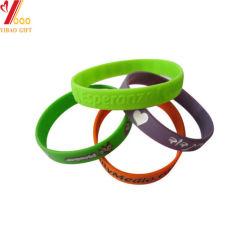 Custom печать силиконовый браслет браслет с левой полосы голосования Рекламные сувениры