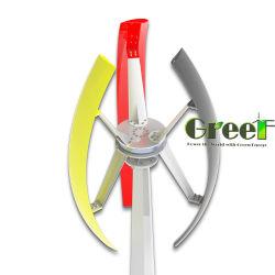 1kw 3 Turbine Met geringe geluidssterkte van de Wind van de Hoge Efficiency van de Fase de Verticale voor Opgezette het Dak van het Gebruik van het Huis
