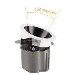 7W-30W profunda Antirreflejos resistente al agua incorporado para empotrar Downlight LED Spotlight Spot