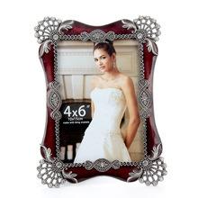 Decoración personalizada de aleación de zinc metal beautiful bride foto/imagen (005)