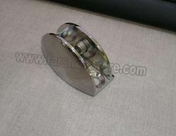ثابتة زجاجيّة مشبك رصيف صخري [سوبّورت بركت] حامل من جهاز تركيب