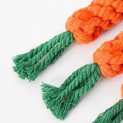 عقدة ميل بحري حبل كلب مضغ [إك-فريندلي] حبل عظم لعب