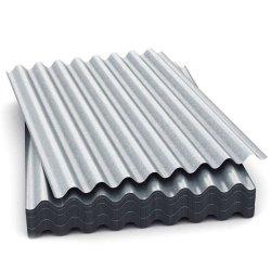 Las materias primas utilizadas para techos de chapa de acero galvanizado corrugado