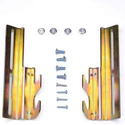 Cama de metal pesado montado na parede da estrutura de suporte da dobradiça do leito de peças de mobiliário