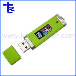 Caixa de travamento de plástico OEM Unidade Flash USB de 8 GB Memory Stick