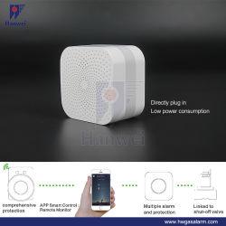 WiFiの自己診断のボタンおよびリングの警報灯デザインのスマートな可燃性のガス警報