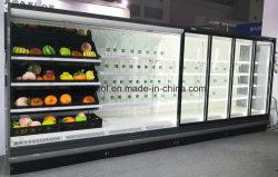 Green&santé Ouvrir le refroidisseur combiné pour le dépanneur du Cabinet