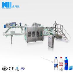500 мл 6, 000 бутылок в час ПЭТ-бутылки заполнение линия для производства фруктовых соков и газированные безалкогольные напитки
