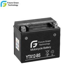Ytx12-BS 12V 12Ah de l'aga de qualité Super Moto Moto batteries plomb-acide
