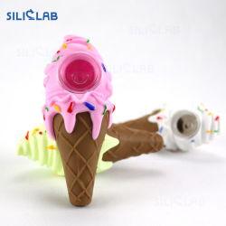 Siliclab Platin-Eiscreme-Kegel-Tabak/Kategorie/Silikon-Pfeife
